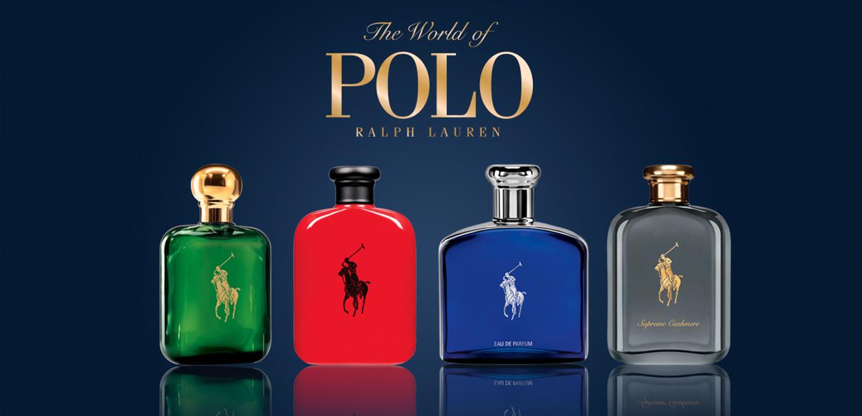 �ล�าร���หารู��า�สำหรั� Ralph Lauren World of Polo Collection