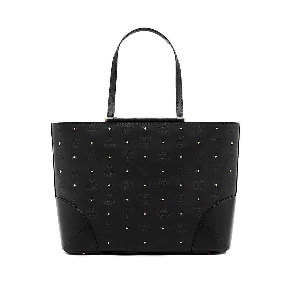 Qatar Duty Free - Claudia Stud Shopper Black Medium 71bd261a8533d