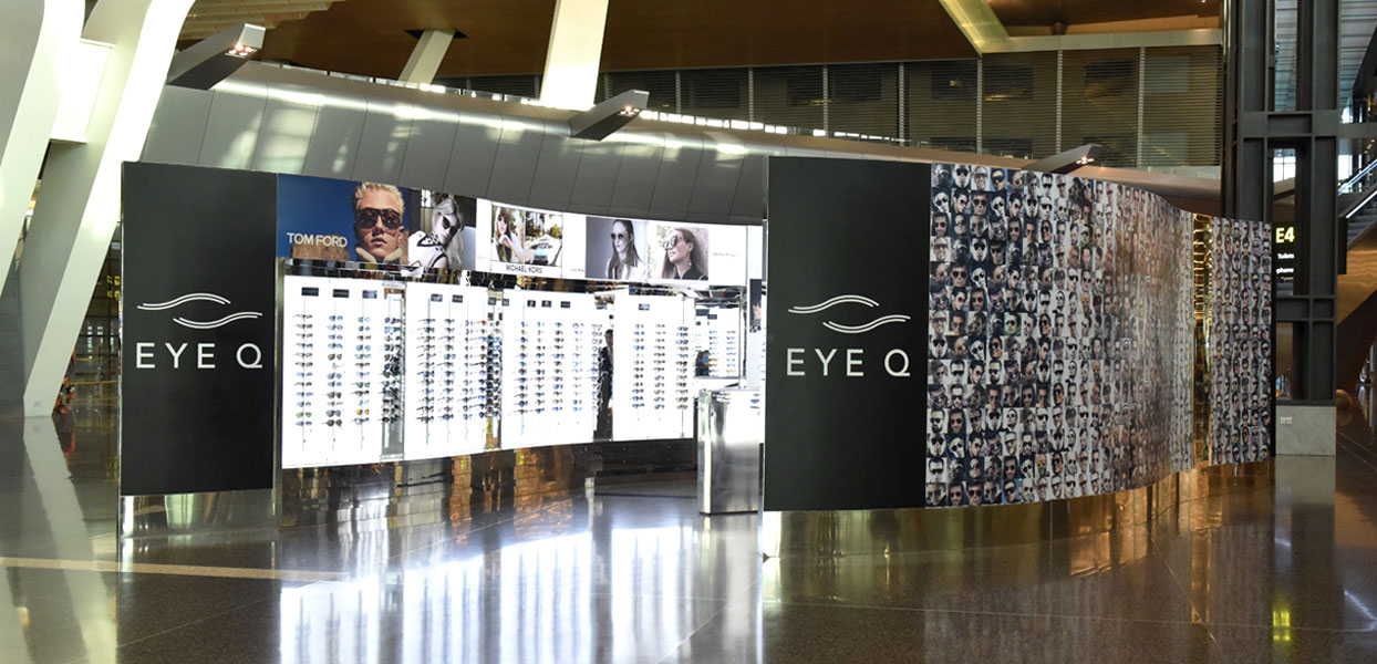 Qatar Duty Free Eye Q Sunglasses